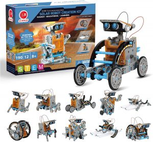 CIRO STEM Projects 12-in-1 Solar Robot Toys