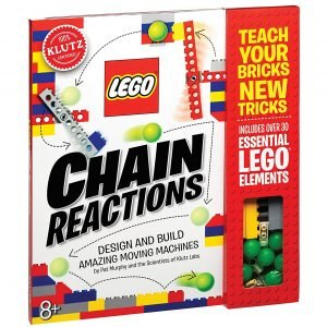 Klutz LEGO Chain Reactions Activity Kit Best Science Gifts For 12 Year Old