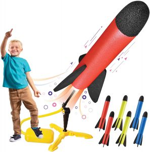 Motoworx Toy Rocket Launcher Best Gifts for 7 Year Old Boys