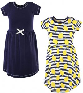 Touched by Nature Girls' Organic Cotton Dresses